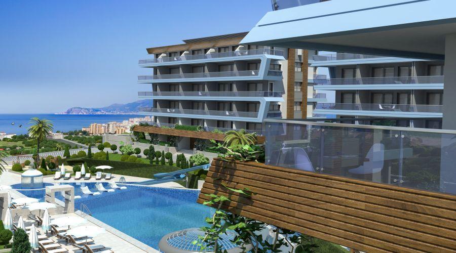 Eco friendly apartments Kargicak - in2turkey - Real estate in Turkey